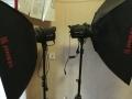 金贝摄影灯,佳能350D单反相机,吸光墙纸背景板