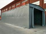 定制大型雨篷推拉篷活动棚仓库篷伸缩雨棚移动雨篷户外帐篷遮阳蓬