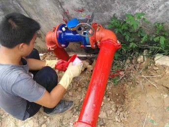 佛山狮山大沥里水禅城西樵高明三水乐从消防管道安装漏水维修检测
