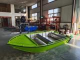 3.8米綠色小快艇 鋁合金路亞艇 沖鋒舟 公務艇浮筒船