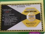 东莞防震标签SHOCKWATCH防震撞显示标签,物流监测标签