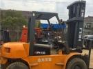 丽江转让新款2015二手合力10吨叉车2016报价2年1万公里8.9万