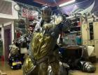 衡阳魔兽人物雕塑出租 巡游花车租赁 卡通道具肖恩羊迪士尼出租