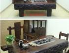 邢台全新老船木茶桌椅组合 户外功夫茶桌