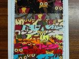 帆布 2*2全棉涂层猫头鹰帆布印花 箱包