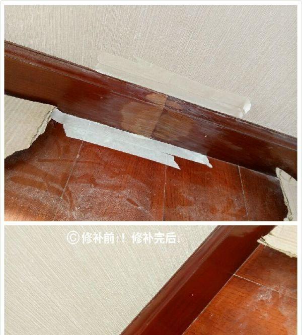 木门木饰面油漆修补