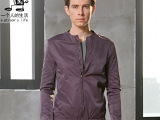 一个人的生活男装 新款男士秋季外套韩版时尚潮男休闲夹克