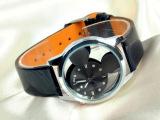 手表男 米奇双面玻璃镜面手表 时尚手表 精致透明手表 可淘宝代销