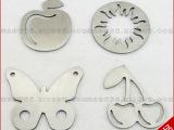 供应不锈钢小图案、可做苹果太阳蝴蝶各种图案、MZ004