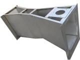 湖南不銹鋼B600巴氏計量槽