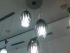 中山古镇批发铝材餐吊灯 简约吊灯热卖玻璃