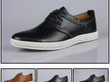 普雷艾斯 外贸原单休闲男鞋 真皮韩版板鞋 混批爆款运动正品鞋