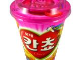 韩国食品*韩国食品批发/乐天儿童巧克力饼干桶100g
