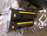 停车位挡轮器停车位挡轮器停车位挡车器采用橡胶材质工程级反光膜