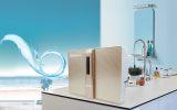 家用净水器 反渗透RO纯水机 高端红色直饮机 厨房壁挂净水机