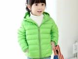 冬装新款儿童加厚棉袄 韩版女童棉衣