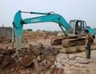 上海嘉定区挖掘机出租江桥 南翔混凝土破碎开挖