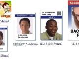 证卡打印机ic卡打印机ic制卡机会员卡健康证PVC证件打印机