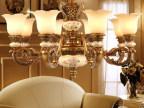 厂家批发仿古奢华树脂欧式吊灯餐厅客厅卧室酒店工程灯