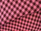 [伊晨布艺]沙发布 16色入色织格子麻棉布料 手工棉麻布