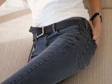 2015新款牛仔裤批发 韩版修身小脚牛仔裤女 中山长裤牛仔裤女式