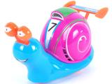 最火爆热卖款造型可爱趣味小玩具卡通拉线灯光极速蜗牛多款式