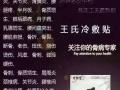 王氏冷敷贴加盟 其他 投资金额 1万元以下