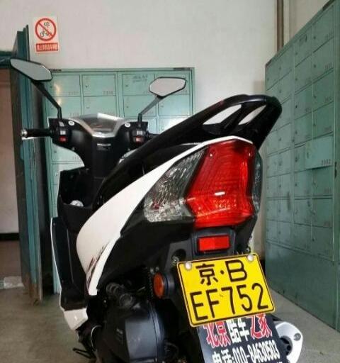电喷摩托车