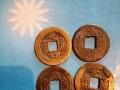 清代钱币,还有清代十二位皇帝银治头像,毛泽东邮票成套,有意者