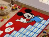 卡通地垫、门垫 正品迪士尼尼龙儿童防滑地毯 九九表 75*150