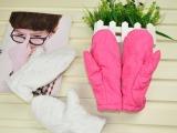 2014冬季外贸儿童保暖手套 冬季必备防寒保暖手套 女童手套