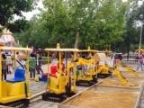 儿童电动挖掘机,仿真360型游乐挖掘机