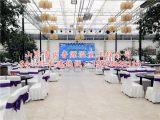 河南PC阳光板玻璃生态餐厅温室大棚造价
