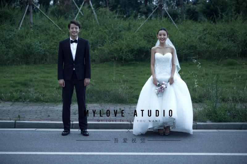 时尚私人订制高端婚纱摄影 无隐形消费 性价比高~