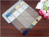 苹果6 plus钢化玻璃膜 5.5寸彩色电镀镜子镜面膜 ipho