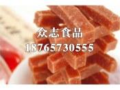 草莓山楂条价格潍坊精品山楂制品批发供应