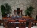 潮州万达船木茶台龙骨茶几批发老船木茶艺桌椅组合