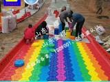 彩虹糖没有糖 彩虹滑道 游乐滑道 旱雪滑道 自由滑草皮
