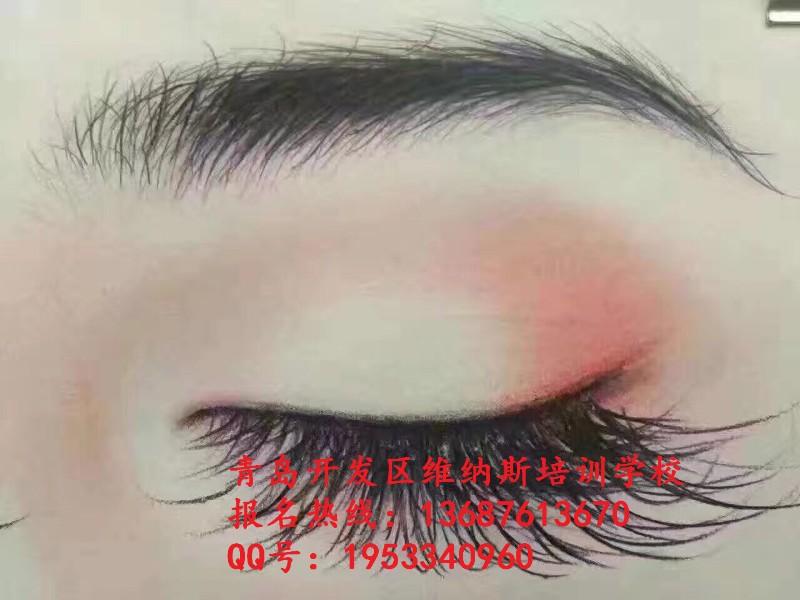 学化妆青岛开发区有哪些?维纳斯化妆培训随到随学