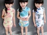 童装2015新款中小童旗袍中国风立领旗袍童装一件待发
