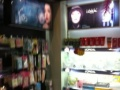 专业化妆品展架出售带彩妆台等