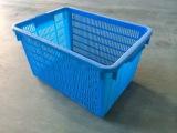 厂家直供 620周转箩 蓝色周转箩 蔬菜塑料周转筐 量大从优