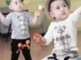 2014秋装新款韩版外贸宝宝上衣 品牌童装批发 童装一件代发