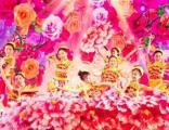 青岛水鼓小提琴新民乐表演,二人转,平衡术羽毛,小丑