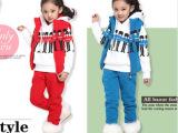 童装 2013新款韩版 中大童加厚三件套冬款 儿童卫衣加棉加绒套