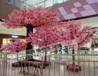 北京包柱子装饰仿真树桃花树发榕树定做