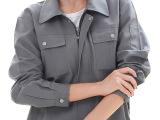 长袖工作服套装 秋冬季劳保服工作制服工装批发定做