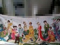出售十二金钗十字绣,长242cm宽97cm,花了一年完成,
