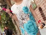 厂家直销 宽松大码女装胖mm夏装冰丝连衣裙 t恤 冰丝裙一件代发