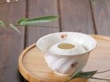 日本进口花器摆设日式陶瓷花盆 水培容器花盆插花器